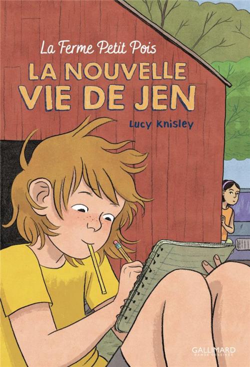Couverture La Nouvelle Vie de Jen : La Ferme Petit Pois