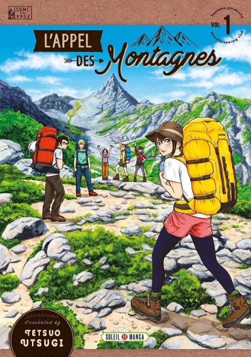 Couverture L'appel des montagnes, tome 1