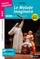 Couverture Le malade imaginaire Editions Nathan (Carrés classiques) 2020
