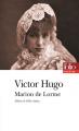 Couverture Marion de Lorme Editions Folio  (Théâtre) 2019