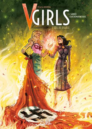 Couverture V-Girls : L'œil du diable, tome 2 : L'armée cauchemardesque
