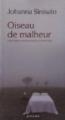 Couverture Oiseau de malheur Editions Actes Sud 2011