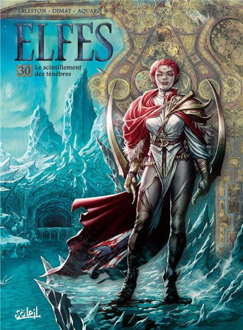 Couverture Elfes, tome 30 :  Le scintillement des ténèbres