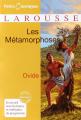Couverture Les Métamorphoses Editions Larousse (Petits classiques) 2010