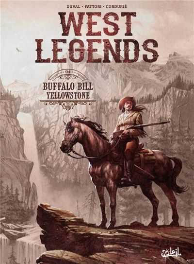 Couverture West legends, tome 4 : Buffalo Bill - Yellowstone