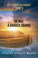 Couverture De Noé à Barack Obama Editions Librinova 2021