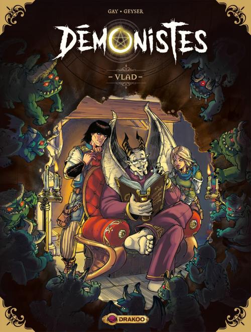 Couverture Démonistes, tome 1 : Vlad