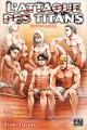 Couverture L'Attaque des Titans, tome 33 Editions Pika (Seinen) 2021