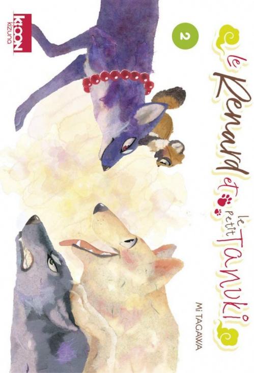Couverture Le renard et le petit tanuki, tome 2