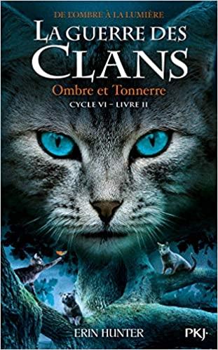 Couverture La guerre des clans, cycle 6 : De l'ombre à la lumière, tome 2 : Ombre et tonnerre