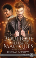 Couverture Murder by Magic, tome 1 : La boutique des artefacts magiques Editions Juno Publishing (Hecate) 2021