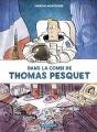 Couverture Dans la combi de Thomas Pesquet Editions Dargaud 2017