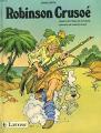 Couverture Robinson Crusoé Editions Larousse 1985