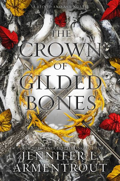 Couverture Blood and Ash, book 3: The Crown of Gilded Bones