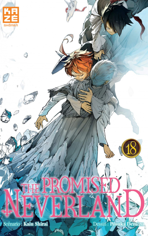 Couverture The Promised Neverland, tome 18