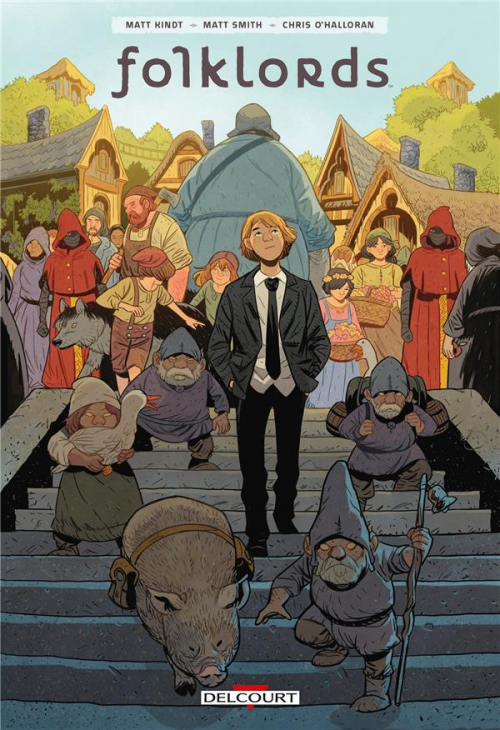 Couverture Folklords, tome 1