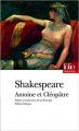 Couverture Antoine et Cléopâtre Editions Folio  (Théâtre) 2010
