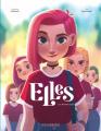 Couverture Elles, tome 1 : La nouvelle(s) Editions Le Lombard (Jeunesse) 2021