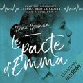 Couverture Le pacte d'Emma Editions Audible studios 2020