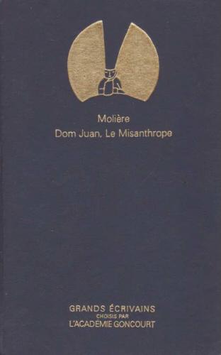 Couverture Dom Juan suivi du Misanthrope