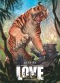 Couverture Love (BD), tome 1 : Le Tigre Editions Vents d'ouest (Éditeur de BD) 2021