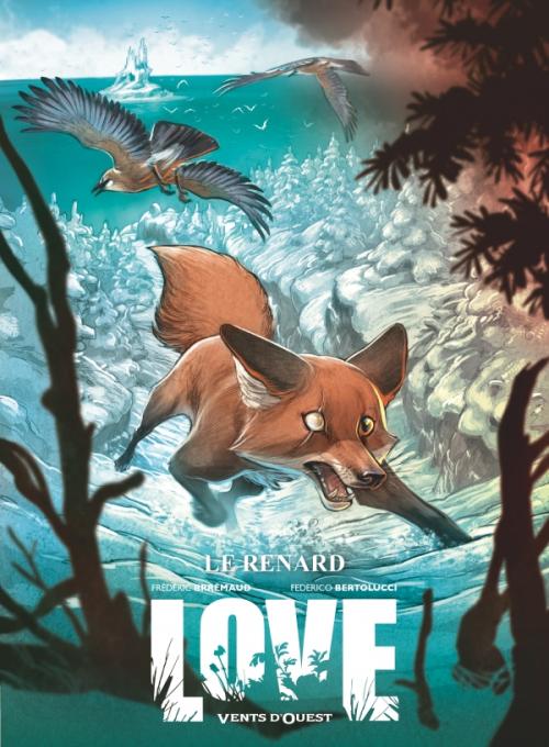 Couverture Love (BD), tome 2 : Le Renard