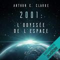 Couverture 2001 : L'odyssée de l'espace Editions Audible studios 2019