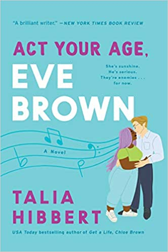 Couverture Act your age, Eve Brown