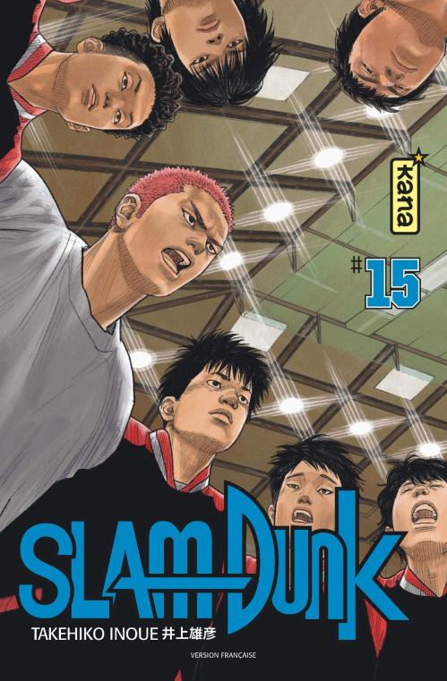 Couverture Slam Dunk, star édition, tome 15