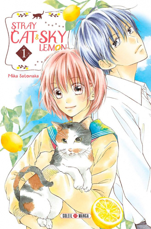 Couverture Stray cat and sky lemon, tome 1