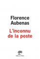 Couverture L'inconnu de la poste Editions de l'Olivier 2021
