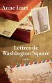 Couverture Lettres de Washington Square Editions Robert Laffont 2020
