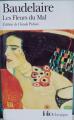 Couverture Les fleurs du mal / Les fleurs du mal et autres poèmes Editions Folio  (Classique) 2013