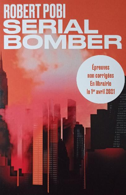 Couverture Serial bomber