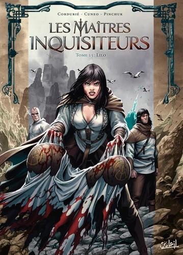 Couverture Les maîtres inquisiteurs, tome 15 : Lilo
