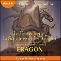 Couverture Eragon : Légendes d'Alagaësia, tome 1 : La Fourchette, la Sorcière et le Dragon Editions Audiolib 2020