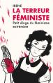 Couverture La terreur féministe Editions Divergences 2021