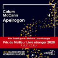 Couverture Apeirogon Editions Lizzie 2021