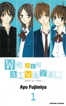 Couverture We are always..., tome 01