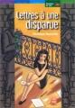 Couverture Lettres à une disparue Editions Le Livre de Poche (Jeunesse - Histoires de vies) 2001