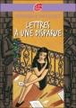 Couverture Lettres à une disparue Editions Le Livre de Poche (Jeunesse) 2007