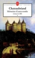Couverture Mémoires d'outre-tombe, tome 1 : Livres I à XII Editions Le Livre de Poche (Classiques de poche) 2001
