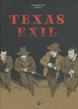 Couverture Texas exil