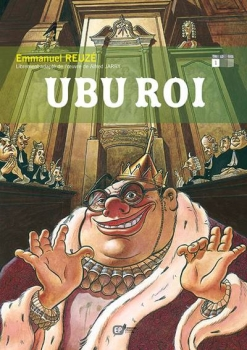 Couverture Ubu roi (BD), tome 1
