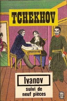 Couverture Ivanov suivi de neuf pièces