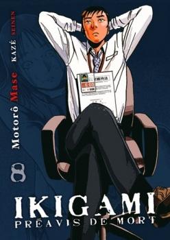 Couverture Ikigami : Préavis de mort, tome 08