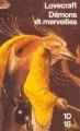 Couverture Démons et merveilles Editions 10/18 1993
