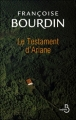 Couverture Ariane, tome 1 : Le Testament d'Ariane Editions Belfond 2011