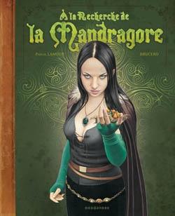 Couverture À la recherche de la Mandragore