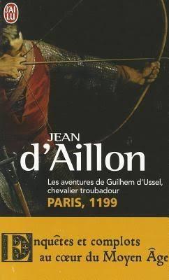 Couverture Guilhem d'Ussel, chevalier troubadour, tome 02 : Paris, 1199